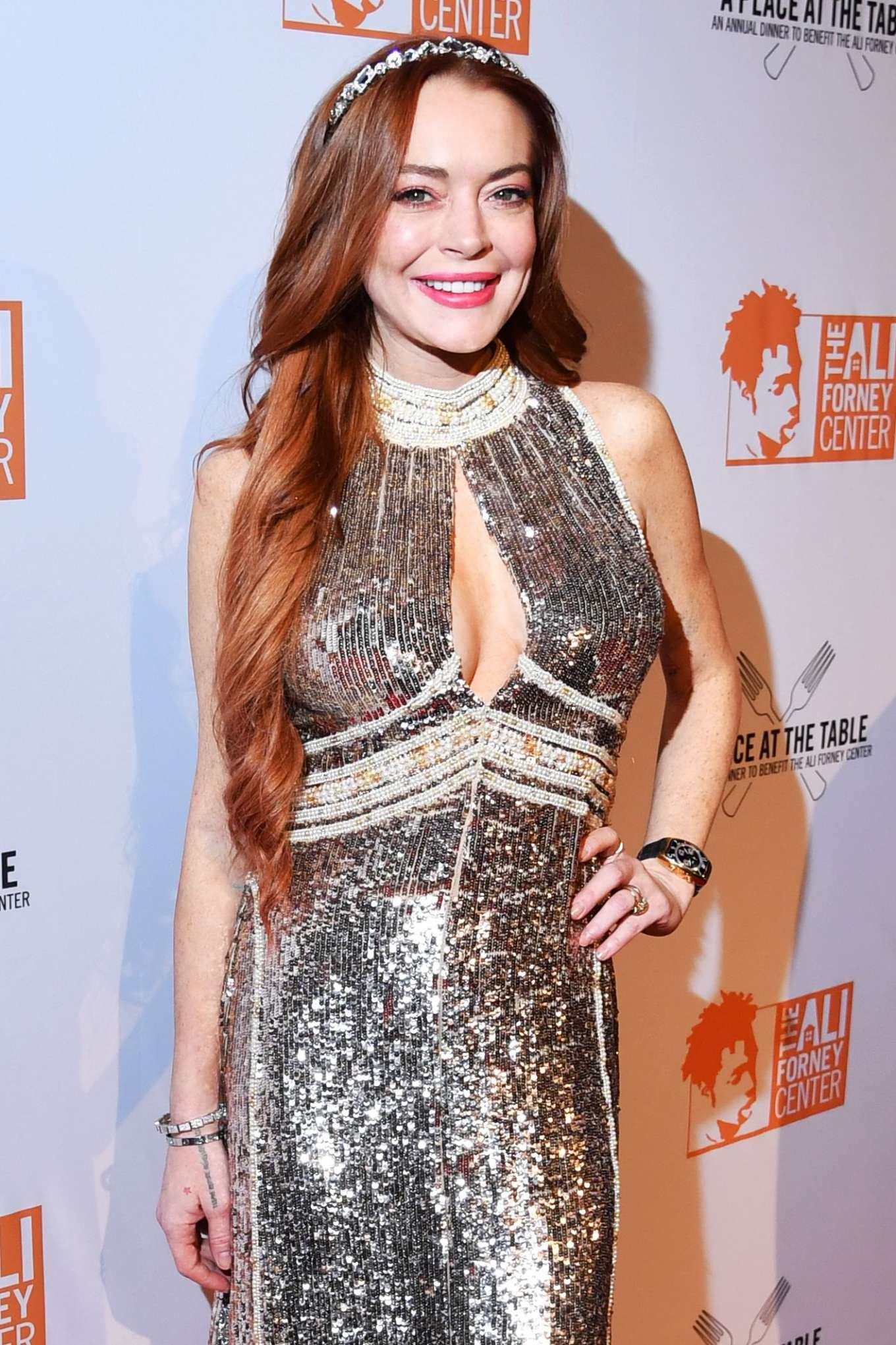 Lindsay Lohan 2019 : Lindsay Lohan – A Place at the Table: The Ali Forney Centers Annual Fall Gala-24