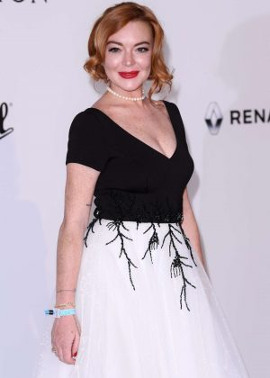 Lindsay Lohan - amfAR's 24th Cinema Against AIDS Gala in Cannes