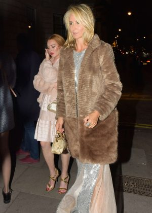Lindsay Lohan and Lady Victoria Hervey at Gucci Party in London