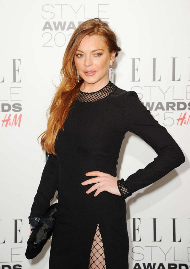 Lindsay Lohan - Elle Style Awards 2015 in London