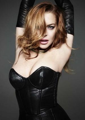 Lindsay Lohan - Homme Style (Spring/Summer 2015)