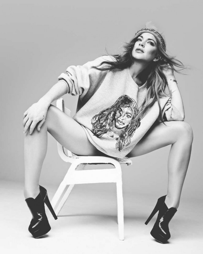 Lindsay Lohan - Hunger Magazine Photo Shoot 2015