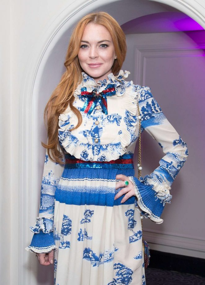 Lindsay Lohan - IFTAR at the Savoy in London