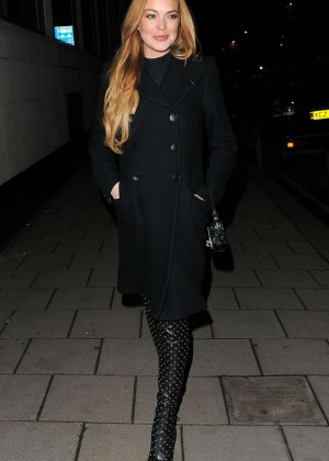 Lindsay Lohan - La Legende De La Palme D'or Afterparty in London