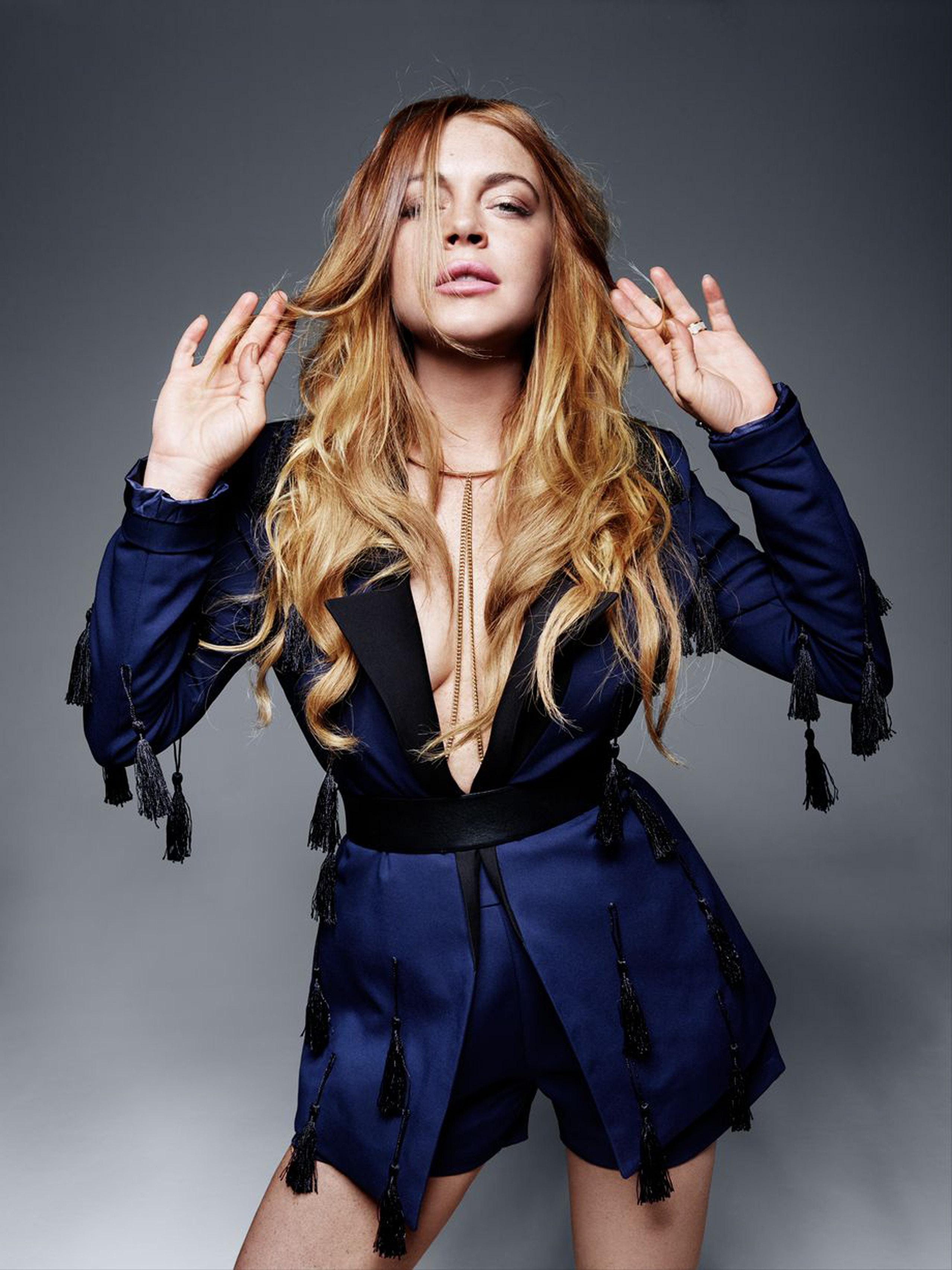 Lindsay Lohan - Lavish Alice Photoshoot (June 2015)
