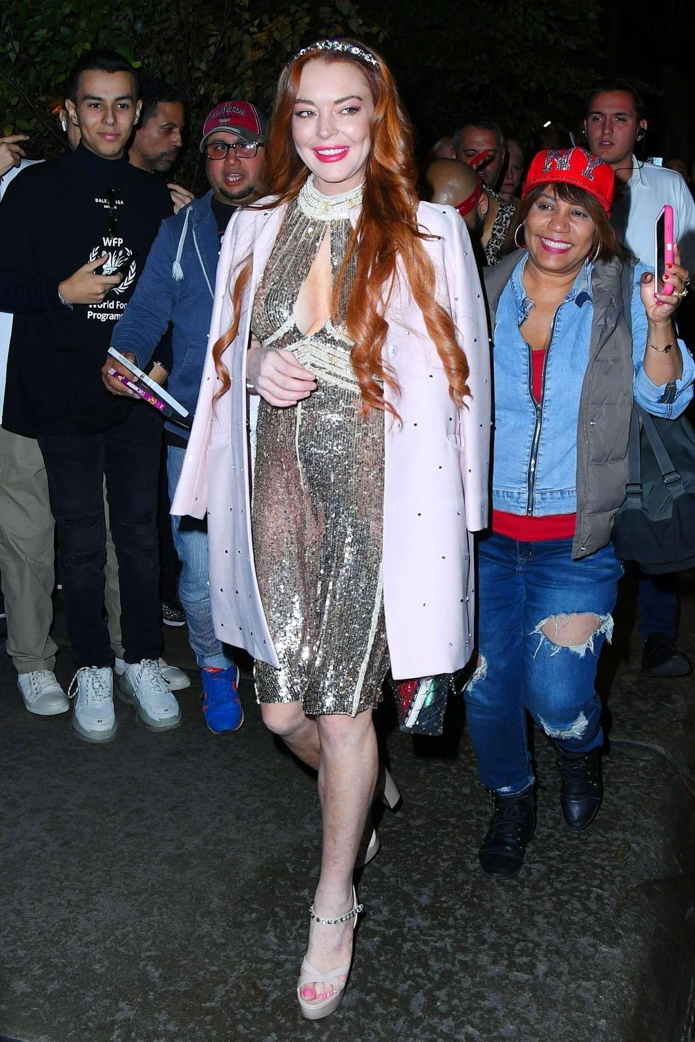 Lindsay Lohan 2019 : Lindsay Lohan – Leaves the Mercer Hotel in New York-04