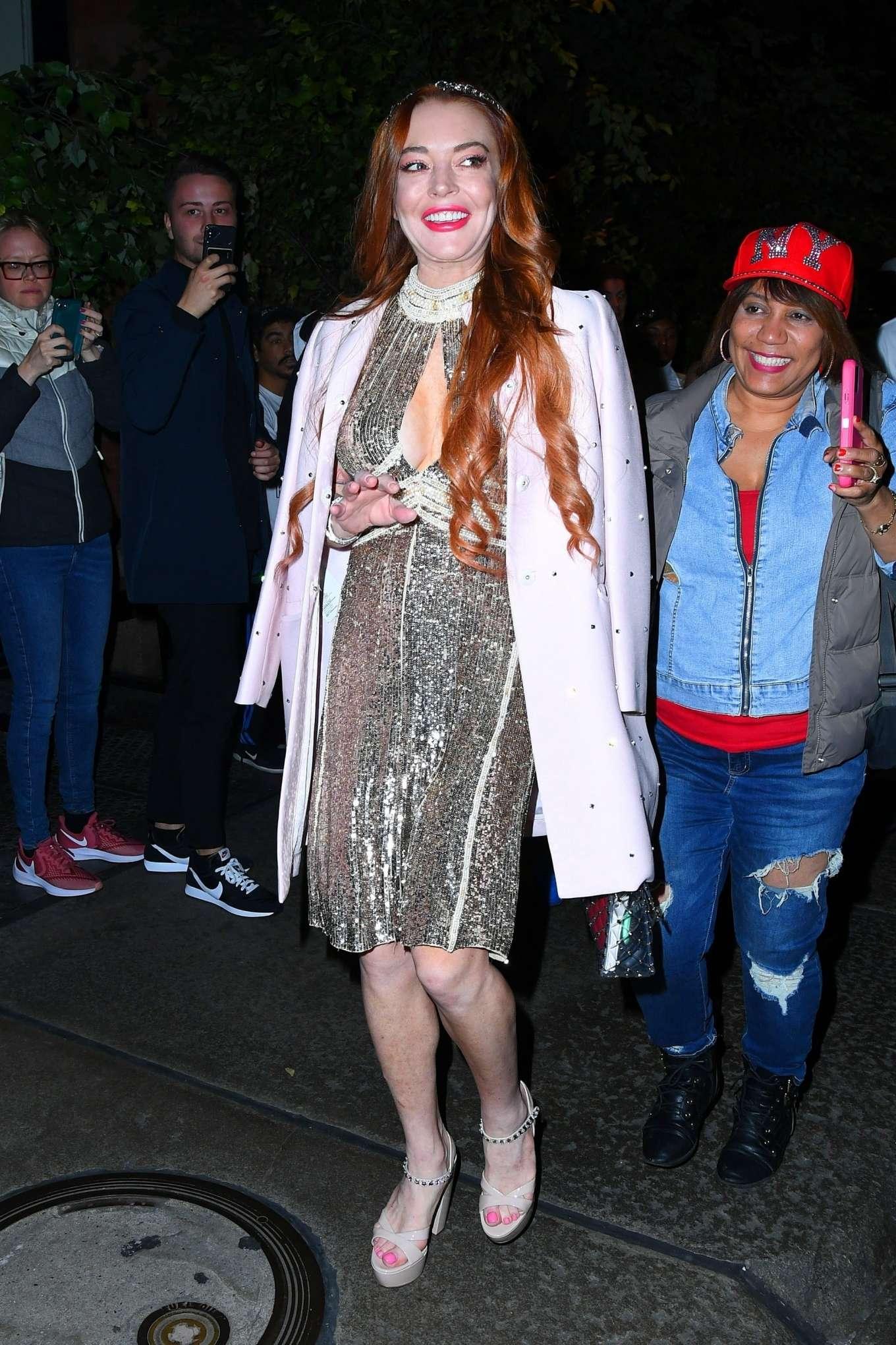 Lindsay Lohan 2019 : Lindsay Lohan – Leaves the Mercer Hotel in New York-06