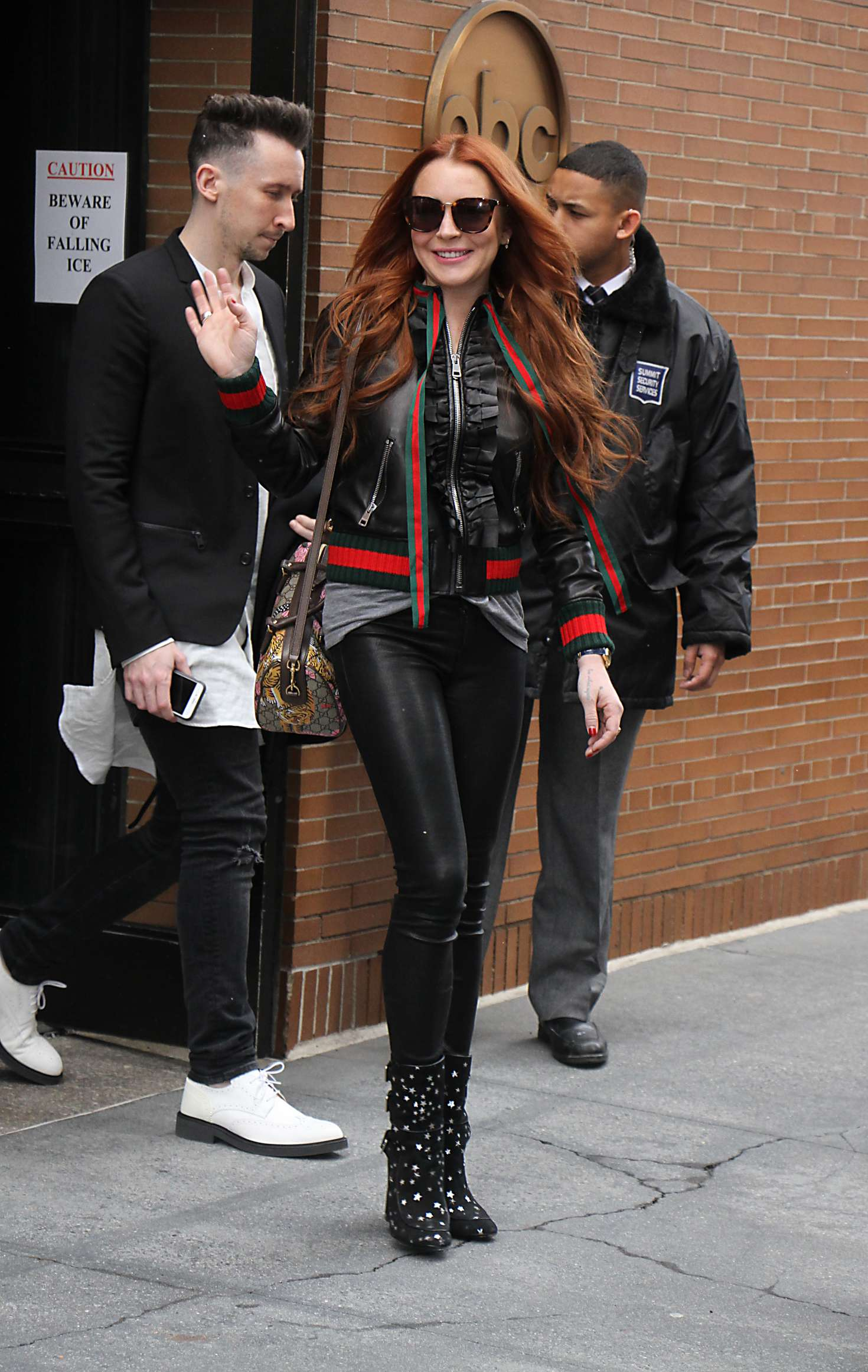Lindsay Lohan - Leaving The View in NY
