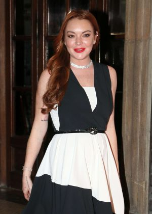 Lindsay Lohan - LuisaViaRoma Firenze4Ever - Fashion, music and art in Florence