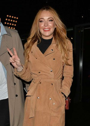 Lindsay Lohan - Mark Hill Launch Event in London