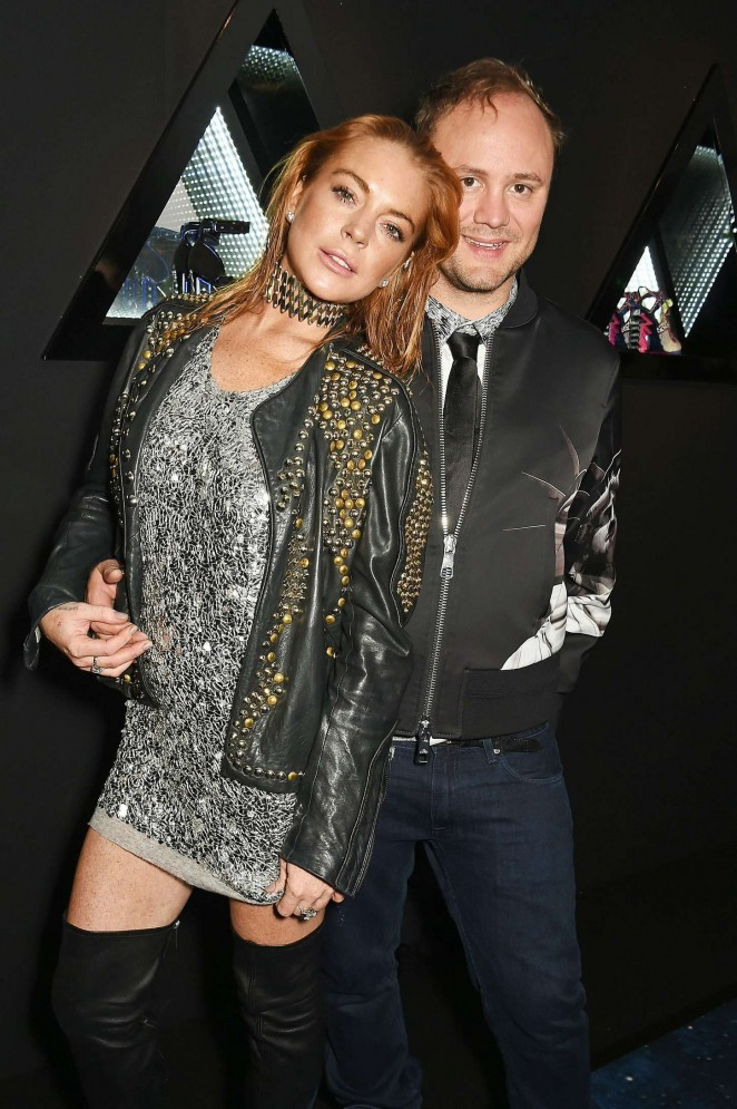 Lindsay Lohan - Nicholas Kirkwood 10 Year Collection Launch and Party in London