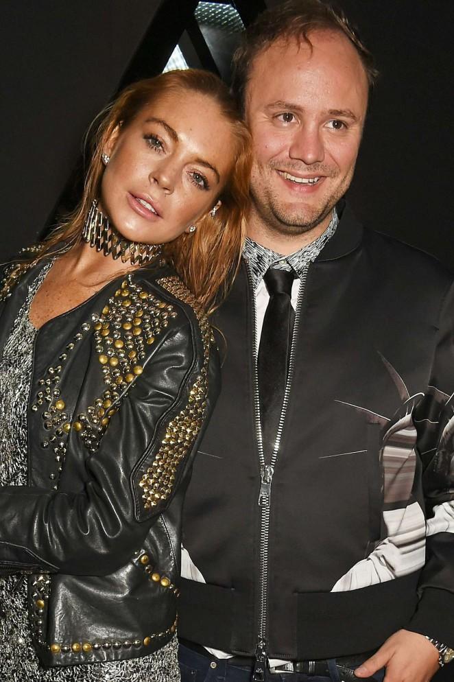 Lindsay Lohan: Nicholas Kirkwood 10 Year Collection Launch -10