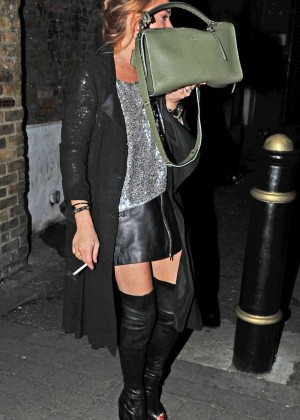 Lindsay Lohan - Night out in London
