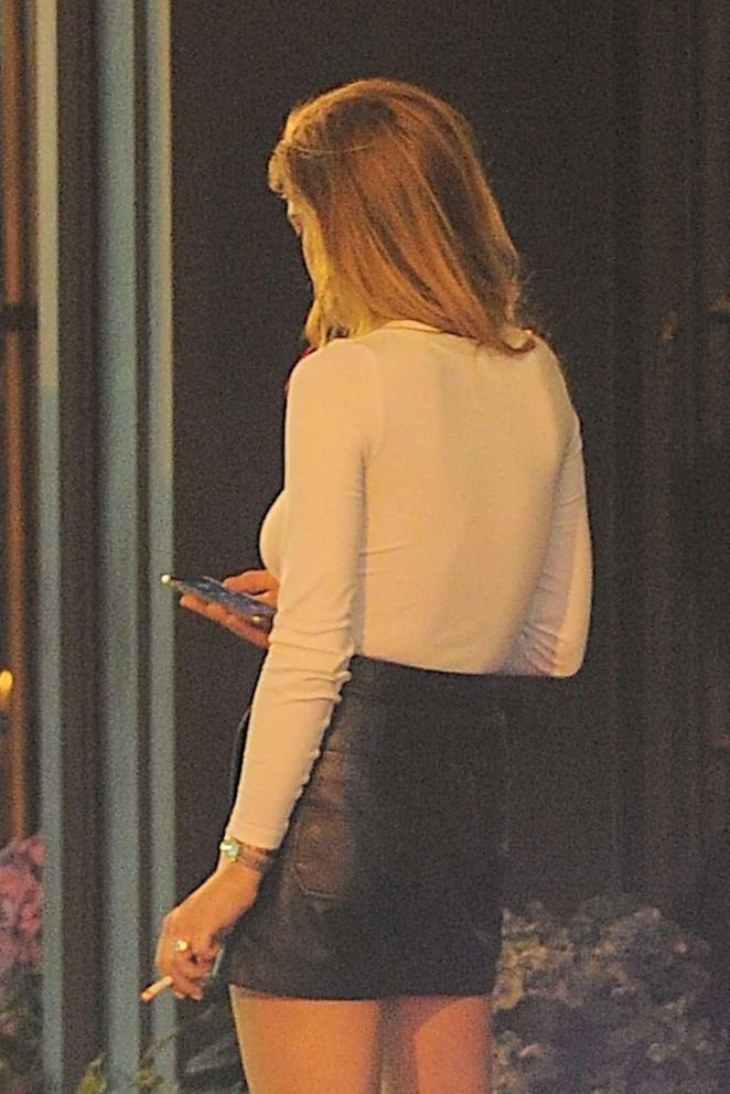Lindsay Lohan Mini Skirt 26