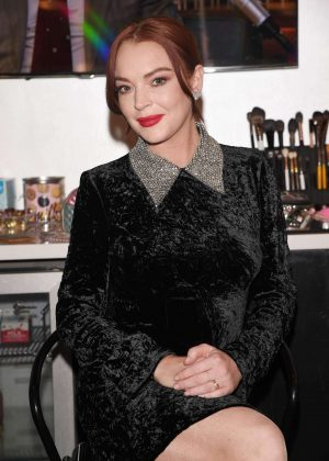 Lindsay Lohan - On 'Tonight Show' in New York City