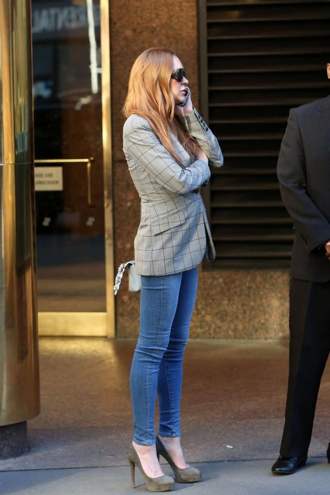El antes y despus de la hermana de Lindsay Lohan