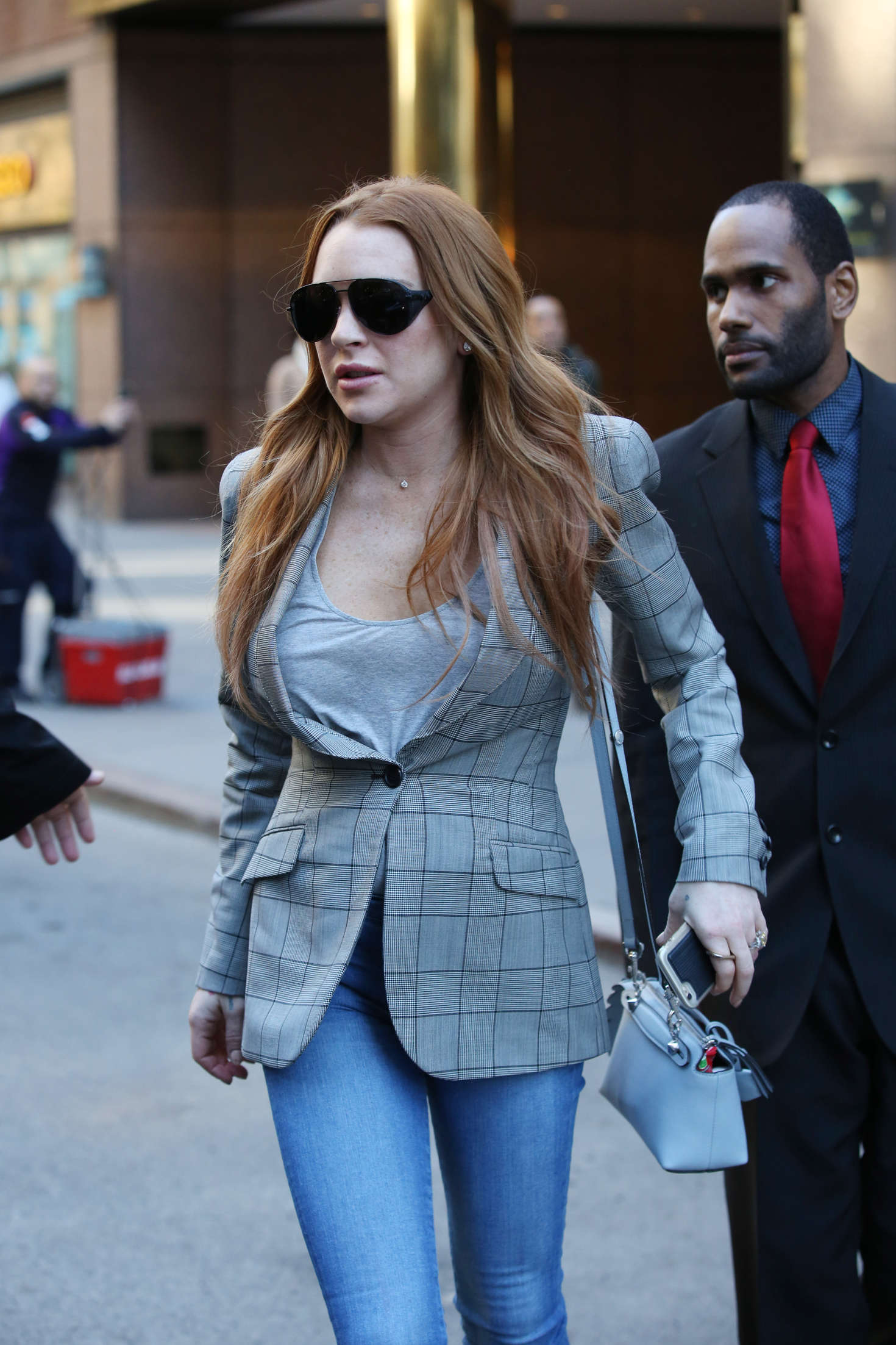 Lindsay Lohan 2016 : Lindsay Lohan on upper east side in New York -09