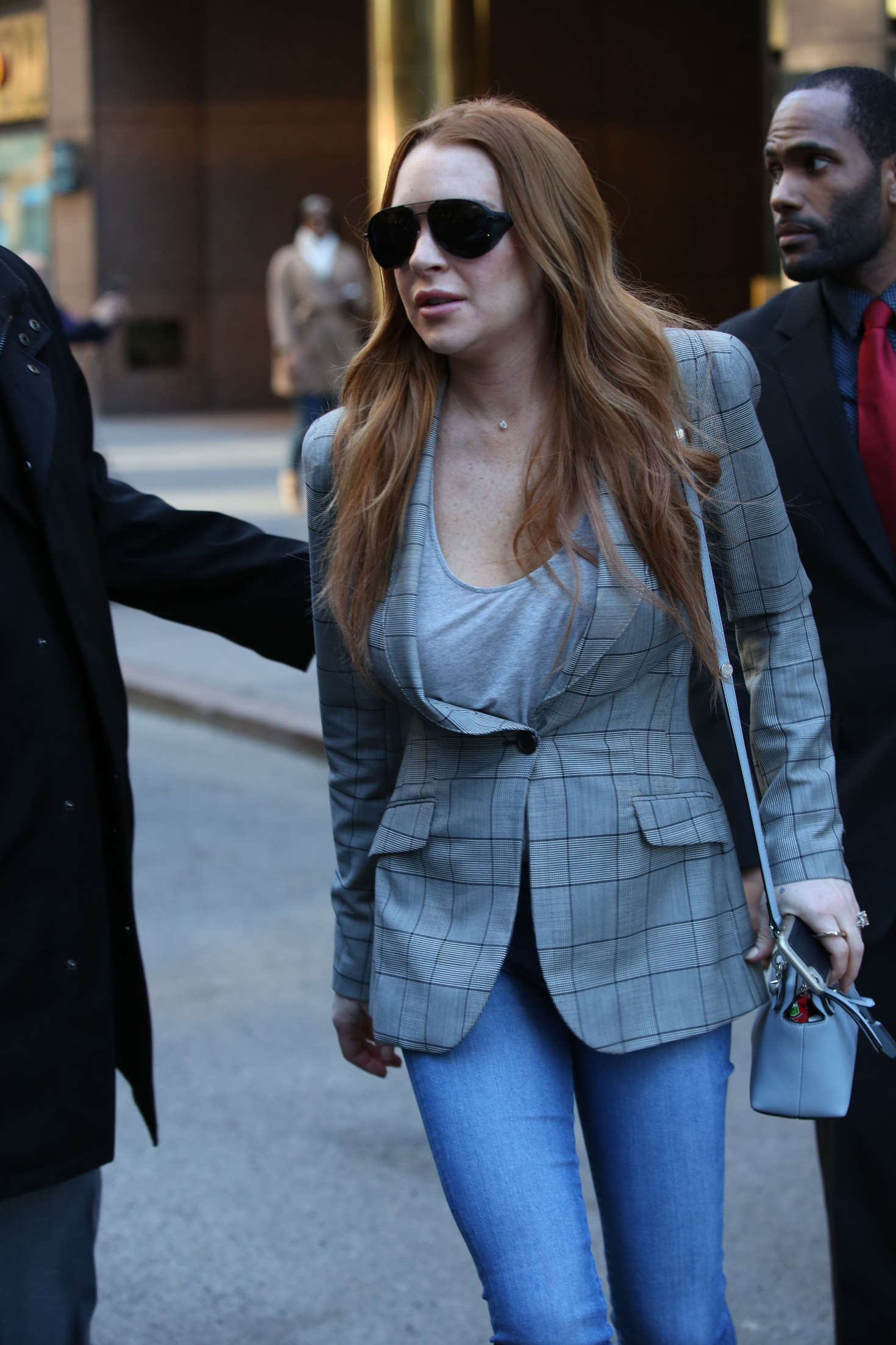 Lindsay Lohan 2016 : Lindsay Lohan on upper east side in New York -11