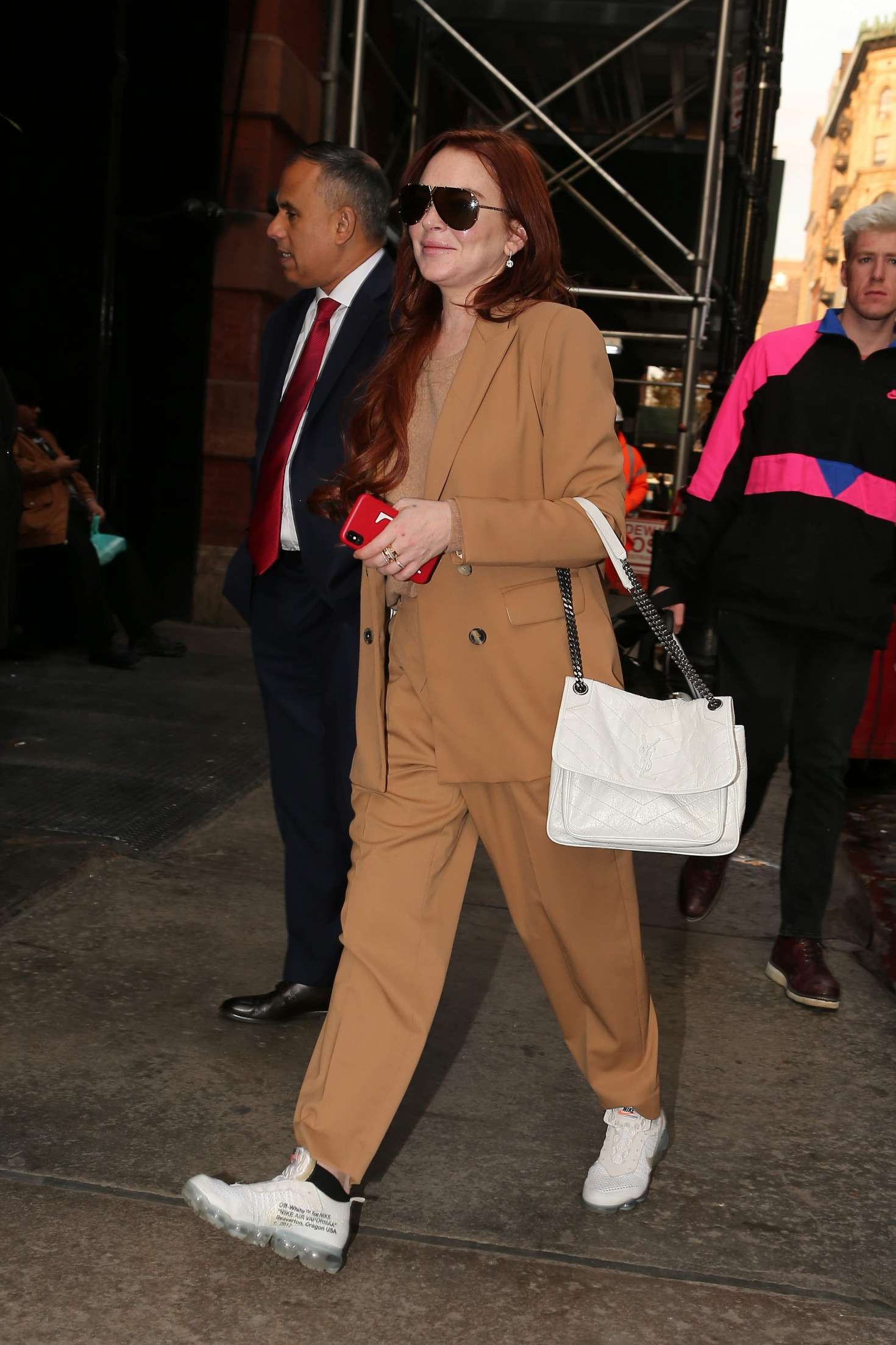 Lindsay Lohan - Out and about in New York City