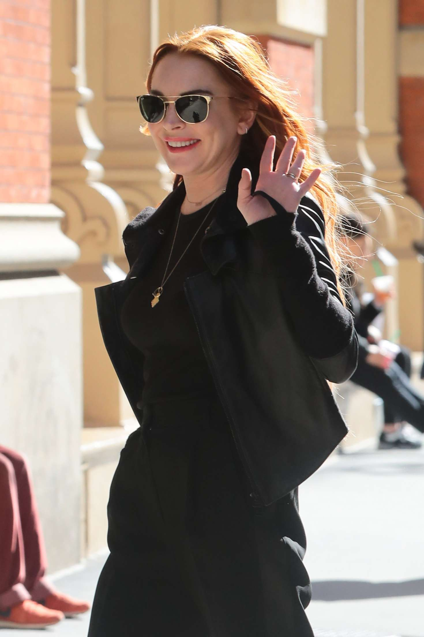 Lindsay Lohan - Out in New York City