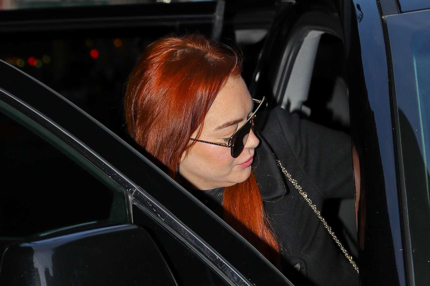Lindsay Lohan 2019 : Lindsay Lohan: Out in New York -04