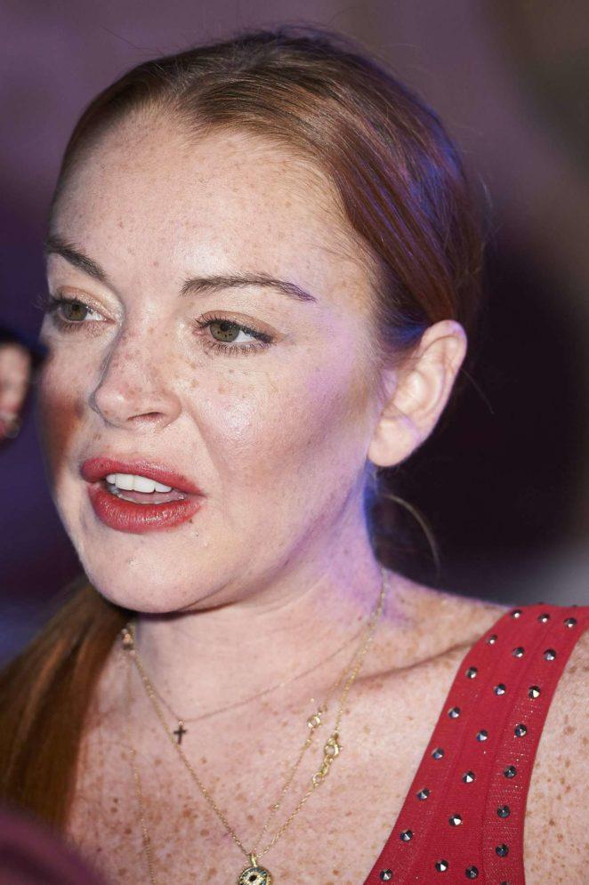 Lindsay Lohan: Present...