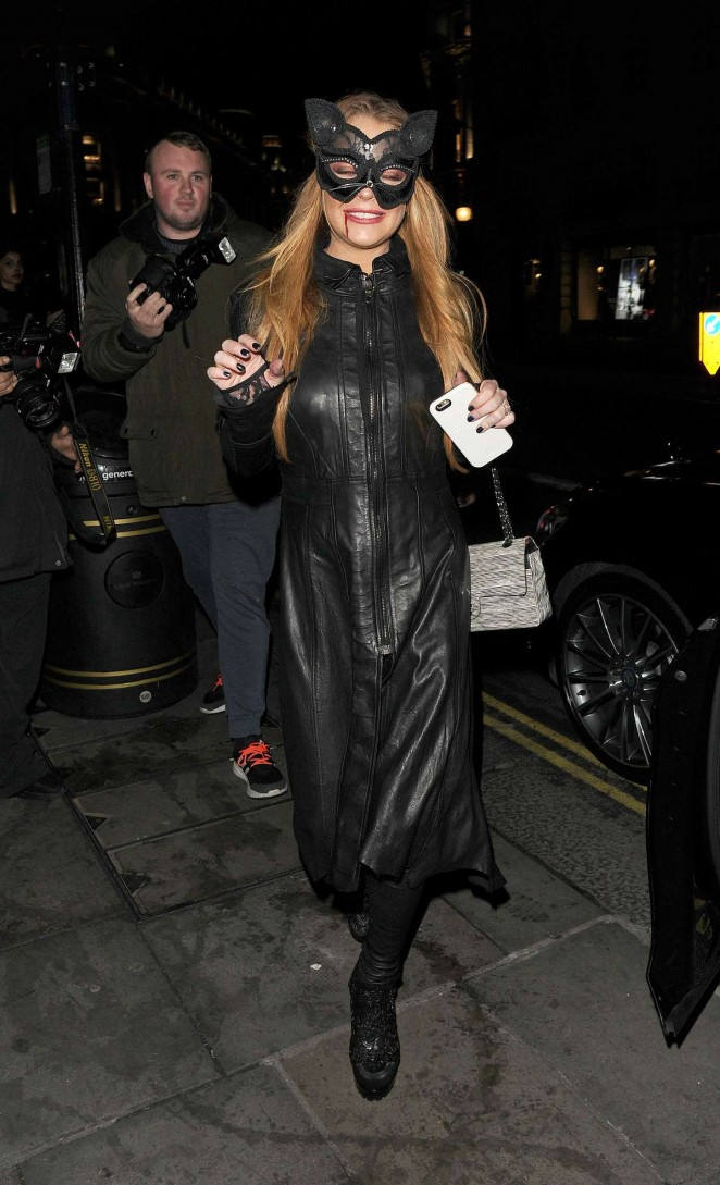 Lindsay Lohan - The Cuckoo Club Halloween Party in London