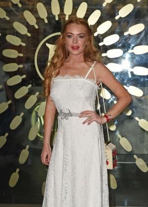 Lindsay Lohan - The Magnum Pleasure Store Launch in London