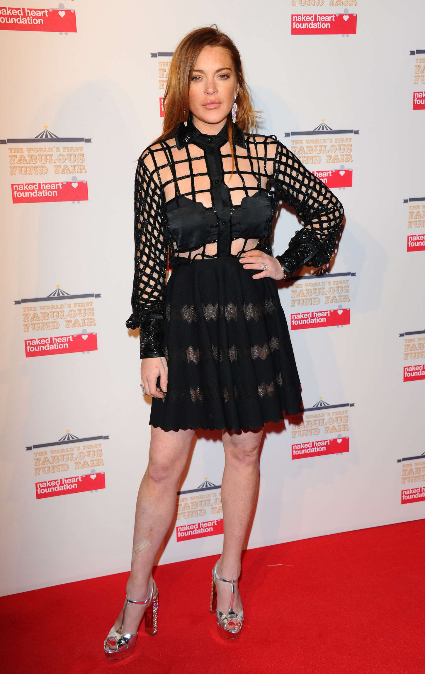 Lindsay Lohan - The World's First Fabulous Fund Fair 2015 in London