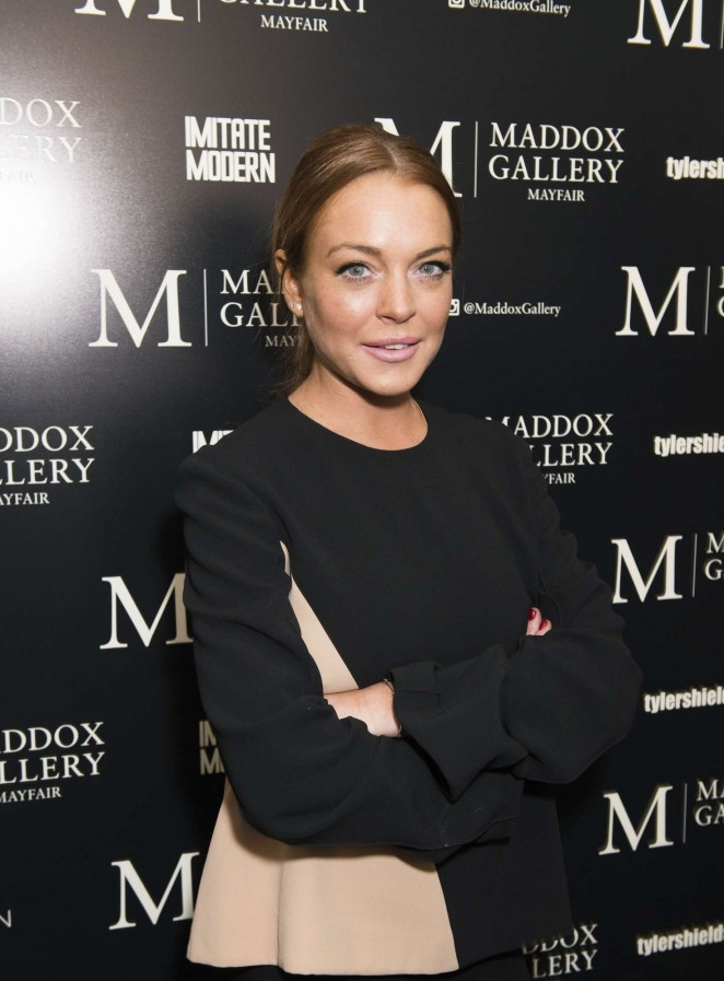 Lindsay Lohan - Tyler Shield's Decadence Opening Night in London