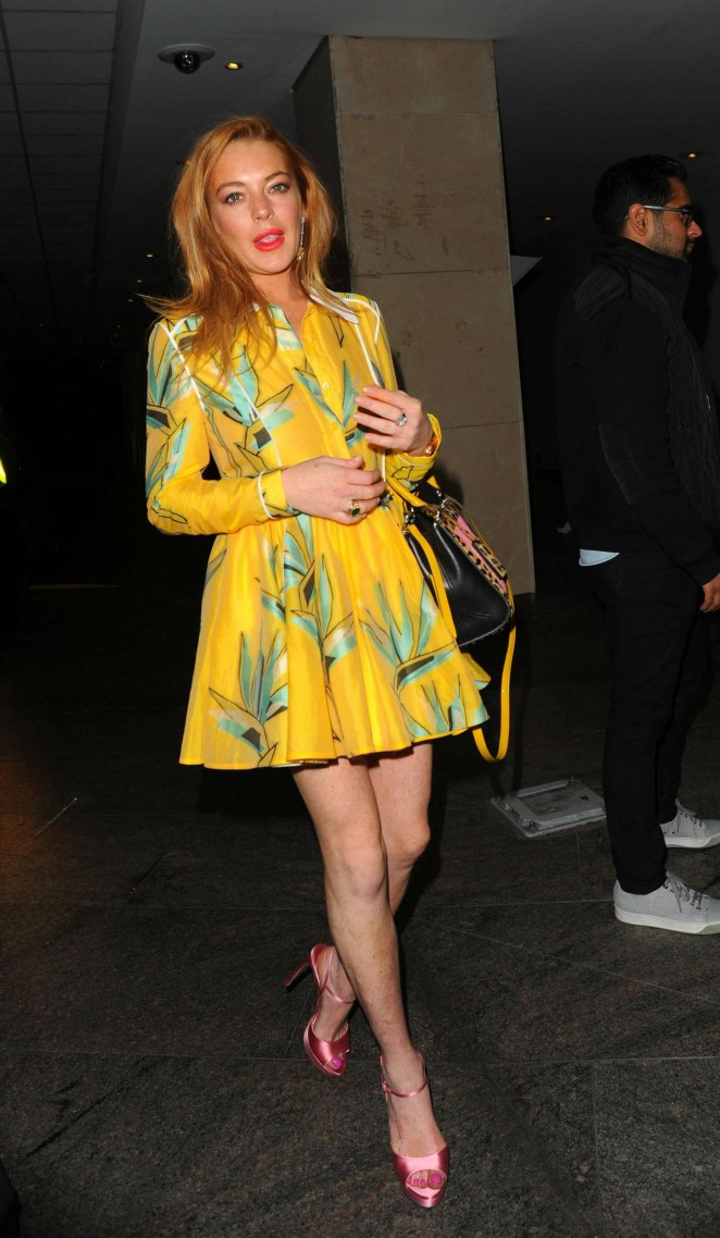 Lindsay Lohan - Wonderland Magazine's 10th Anniversary Party in London