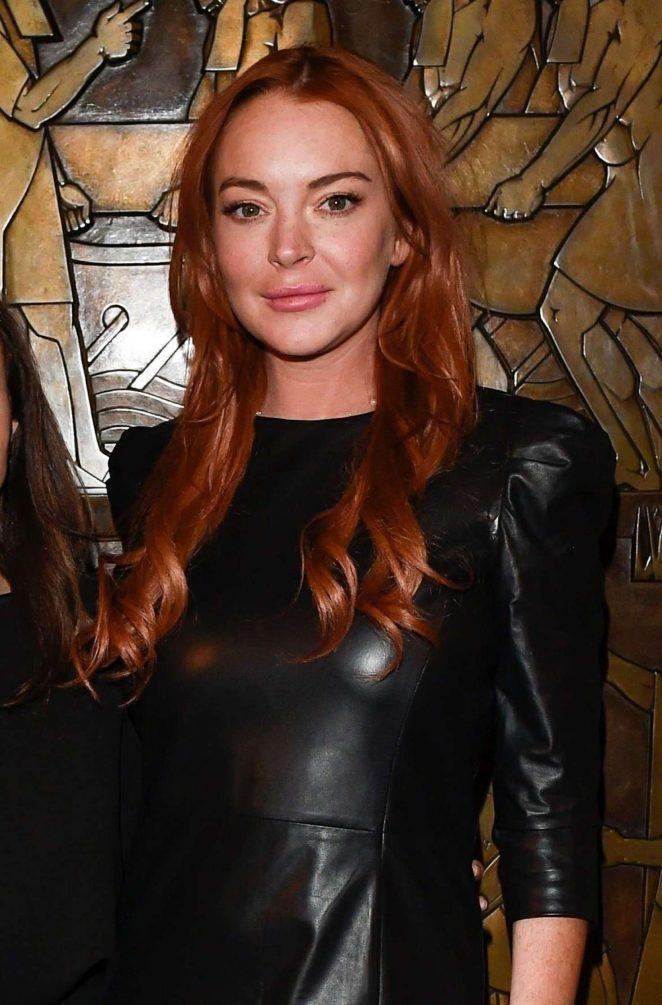 Lindsay Lohan - Zeynep's Fashion Show 2018 in London