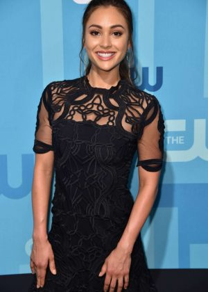 Lindsey Morgan - 2017 CW Upfront Presentation in New York