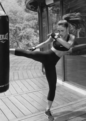 Lindsey Morgan Most Fitness Magazine July 2015 Gotceleb