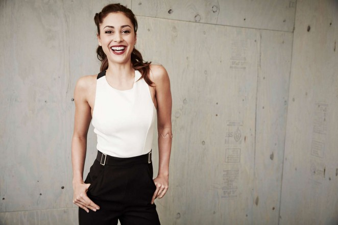 Lindsey Morgan - Winter TCA Tour Portraits 2016
