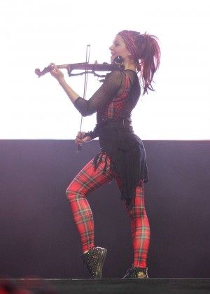 Lindsey Stirling - 2015 Life Is Beautiful Festival: Day 1 in Downtown Las Vegas