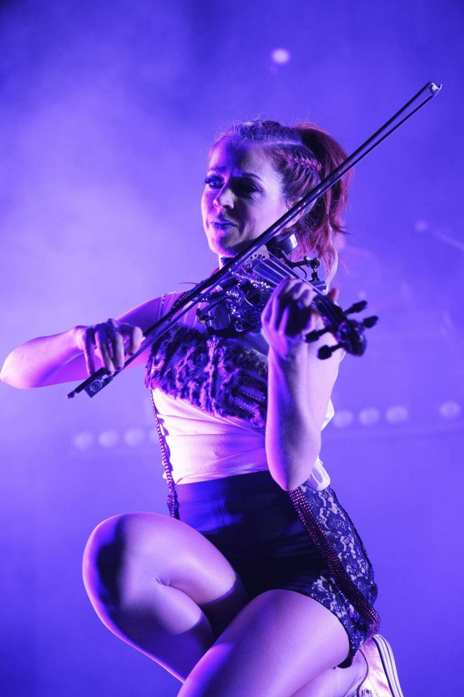 Lindsey Stirling - Performs live at Eventim Apollo in London