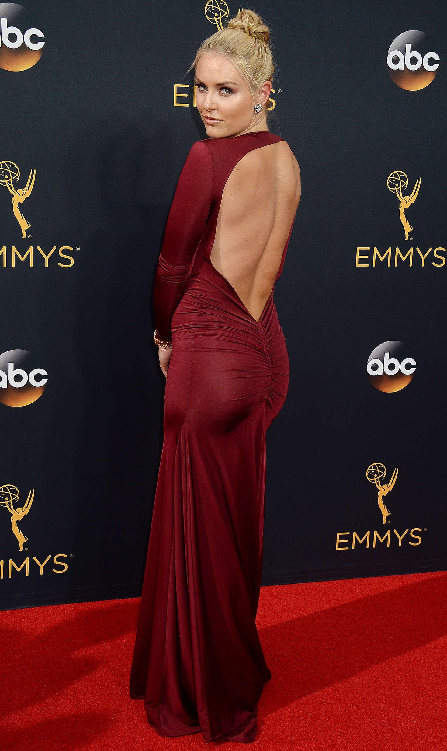 Lindsey Vonn: 2016 Emmy Awards -10 - GotCeleb