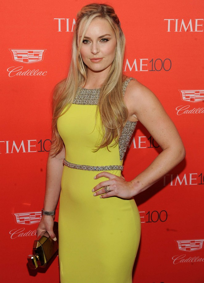 Lindsey Vonn - 2016 Time 100 Gala in New York
