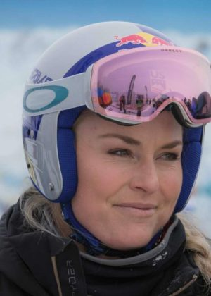 Lindsey Vonn - 2017 Audi FIS Alpine Ski World Cup - Women's Combined in St.Moritz