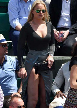Lindsey Vonn - 2017 French Open at Roland Garros in Paris