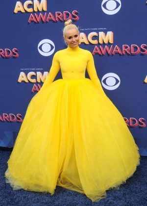 Lindsey Vonn - 2018 Academy of Country Music Awards in Las Vegas