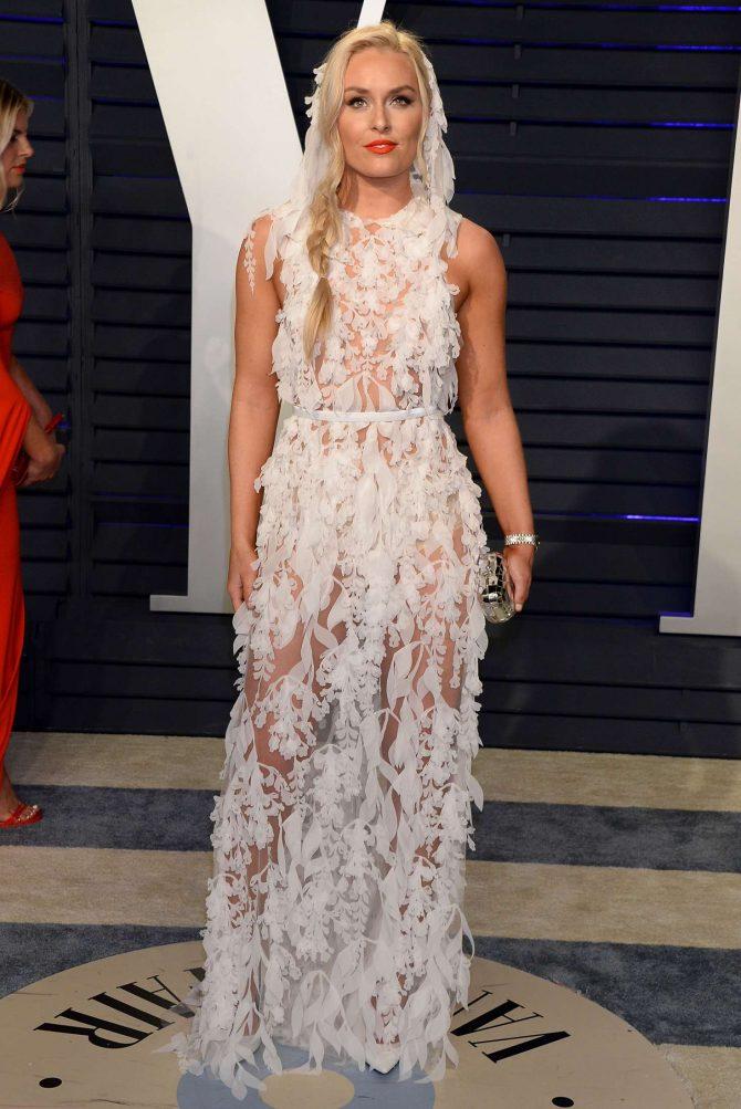 Lindsey Vonn - 2019 Vanity Fair Oscar Party in Beverly Hills