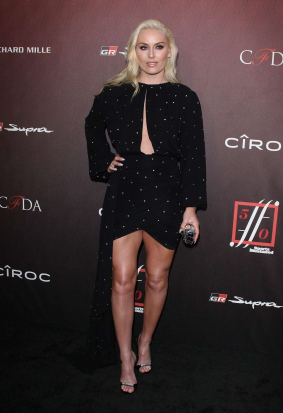 Lindsey Vonn - 4th Annual Sports Illustrated Fashionable 50 Party in LA
