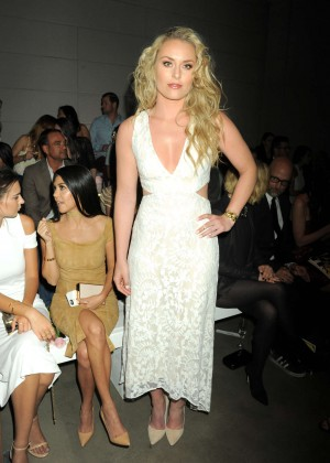 Lindsey Vonn - Alice + Olivia Fashion Show 2016 in Los Angeles