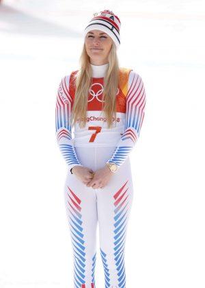 Lindsey Vonn - Alpine ski racer 2018 Winter Olympics PyeongChang