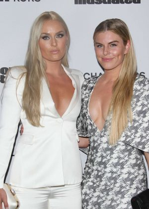 Lindsey Vonn and Karin Kildow - Sports Illustrated 2017 Fashionable 50 Celebration in West Hollywood