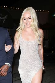 Lindsey Vonn - Arrives at Craig's in West Hollywood