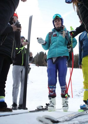 Lindsey Vonn at ALPINE SKIING - FIS World Cup 2018 in Austria