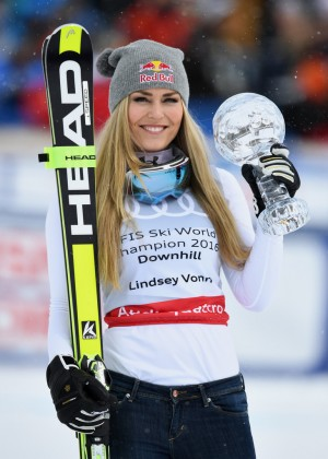 Lindsey Vonn - FIS Alpine Skiing World Cup 2016 in St. Moritz